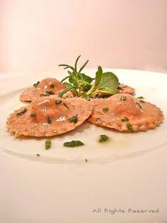 Di pasta impasta: Ravioli di farro integrale ripieni di baccalà e patate