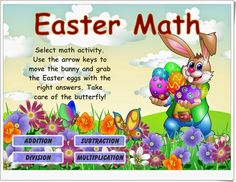 Lot's of great EASTER math fun! InTec InSights: Technology Integration Ideas for the Classroom: Easter and Spring Interactive Games and Activities Easter Activities, Kindergarten Activities, Classroom Activities, Classroom Ideas, Easter Games Online, Learning Sites, School Videos, First Grade Math, Second Grade