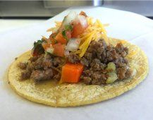 Fresh tacos served at Guisados in Boyle Heights.