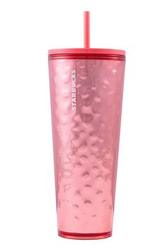 """Sold out Starbucks Tumbler Per Starbucks, the cup """"features mirror foil for a beveled look"""". Holiday 2019 Coffee tea cold tumbler cup Christmas travel mug Starbucks Gold, Starbucks Christmas, Starbucks Cup, Starbucks Tumbler, Pink Cups, Peppermint Mocha, Reusable Cup, Christmas Countdown, Christmas Travel"""