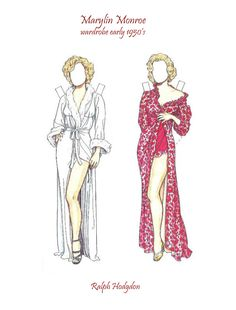 Marilyn Monroe paperdoll - Marilyn Monroe papírbaba - Maria Varga - Picasa Web Albums