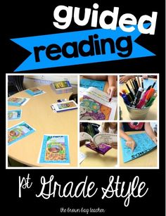 The Brown-Bag Teacher: Guided Reading: 1st Grade Style