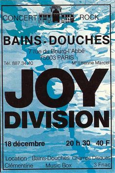 Joy Division - Paris 1979