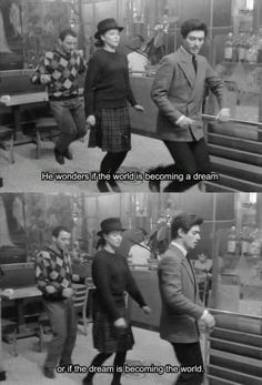 Bande à part, 1964, Jean-Luc Godard.