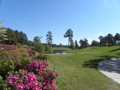 Pinehurst No. 4 one of the prettiest golf courses in Pinehurst.