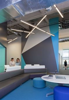 Navis Offices / RMW Architecture and Interiors--- Beautiful accent wall
