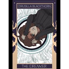 Part of the series of TDA character portraits by @aegisdea -- Drusilla Blackthorn! (You can go back through my Instagram to see Emma, Cristina, Mark, Julian, etc.)