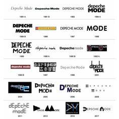 Depeche Mode- logos