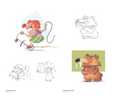 Show Time on Behance