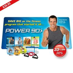 "NOT READY FOR P90X OR OTHER ""EXTREME"" PROGRAMS? NO PROBLEM!   Power 90 is the stepping stone for anyone looking for an extreme workout like P90X, but isn't quite ready for that level of intensity and for a limited time only customers can save 33%! at http://power90.zillafitness.com./  It doesn't matter where you start. It just matters that you start!   #fitness #fit #pushplay #tonyhorton #beachbody #fitnessaddict #fitspo #workout #gym #train #training #health #healthy #instahealth ..."