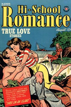 Comic Book Cover For Hi-School Romance v1 #10