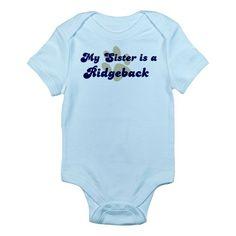 My Sister: Ridgeback Infant Creeper