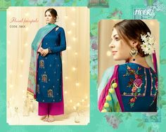 0370776247 Heer Designer Cotton Suits. For Purchasing WhatsApp on +919277506035  Angrakha Style, Sari,