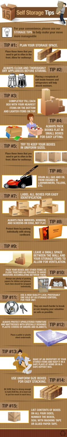 Self Storage Tips  www.todokb.com Alquiler de trasteros y almacenes en Pamplona.