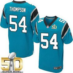 nfl LIMITED Carolina Panthers Scott Simonson Jerseys