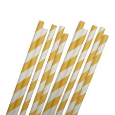 Retro-inspired paper straws. 25 per pack. I love these straws!!