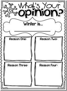 opinion writing graphic organizers great for practicing/brainstorming for opinion paragraphs! could be modified to include a conclusion box. Writing Strategies, Writing Lessons, Writing Prompts, Writing Ideas, Writing Rubrics, Writing Topics, Writing Practice, Writing Help, Essay Writing