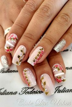 Nail art Christmas - the festive spirit on the nails. Over 70 creative ideas and tutorials - My Nails