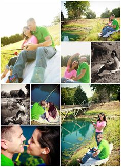 Gone fishin engagement Fishing Engagement Pictures, Themed Engagement Photos, Engagement Ideas, Engagement Shoots, Themed Photography, Fishing Photography, Love Photography, Engagement Photography, Country Couples