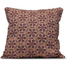Simply Daisy 16 x 16 Water Mosaic Geometric Print Pillow