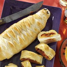 Yummy Mummy Calzones Recipe from Taste of Home