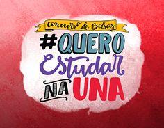 "Check out new work on my @Behance portfolio: ""Lettering - Concurso de bolsas da UNA"" http://be.net/gallery/51720437/Lettering-Concurso-de-bolsas-da-UNA"