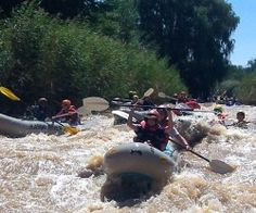 RIVER RAFTING   One-to-four day rafting trips are available on newly-acquired rafts. The rafting takes place over the Fish River Marathon course as well as on the Brak and Teebus rivers. Rapids on all the courses range from grade 1 to 4.   Each trip is organized to meet the individual needs of visitors. All trips are overseen by qualified guides trained and affiliated to the African Paddling Association (APA). Rafting, River Cabins, Road Trip, In This Moment, Explore, Activities, Heartland, Grade 1, Rivers