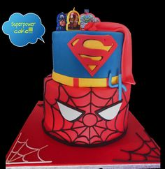 Superheroes cake!!!!!!!