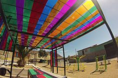 Renovación de Plaza en Padre Alberto Hurtado, Chañaral: Un Espacio que Destaca de su Entorno. | Constructora