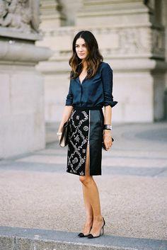 Paris Fashion Week SS 2014....Leila