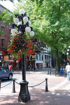 Coal Harbor, Vancouver, BC, Canada >>> Gastown, British Columbia