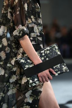 givenchy spring 2015 There's nothing I love more than a black floral print