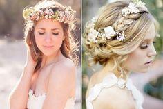 Guirlanda de Flores no Cabelo para Casamento na Praia - Blog - La Blanca Coiffure