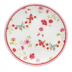 Room Seven - Mini cake plate - Petit four - Butterfly - ∅ 10 cm