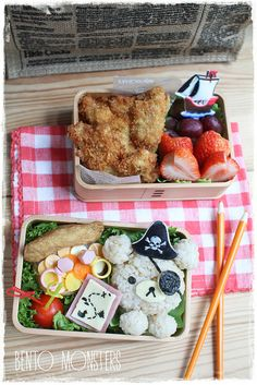 Bento Monsters Pirate Lunch