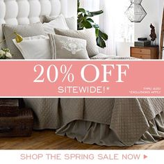 Sitewide Sale at Layla Grayce! Save 20% Off with code '20Spring' www.laylagrayce.com