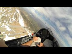 Gliders Dogfighting Over Utah Mountains