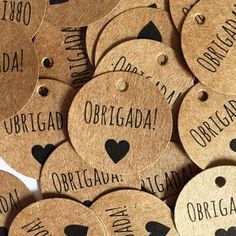 Custom Circle Wood Tags 1 inch x 1 inch Wooden Circle Knitting Handmade Label Hand Knit Maple Cherry Walnut Diy And Crafts, Paper Crafts, Coffee Shop, Gift Tags, Packaging Design, Wraps, Gift Wrapping, Lettering, Mini