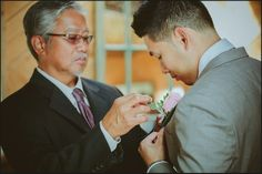 Beautiful touch with the boutonniere @berkeleyevents
