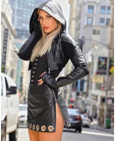Leather Pants Outfit, Leather Dresses, Leather Jacket, Leather Outfits, Leather Skirt, Skirt Outfits, Fall Outfits, Fast Fashion, Womens Fashion