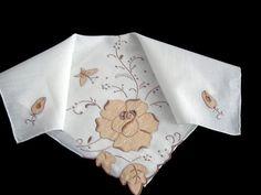 Vintage Madeira Embroidered  Bridal Wedding by littlebitvintage2, $8.99
