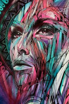 st art: passion portrait 1 by Hopare in Paris, France
