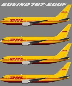 ABX Air (DHL) Boeing 767-200F