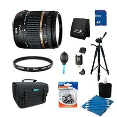 "Tamron 18-270mm f/3.5-6.3 Di II VC PZD IF Lens with Built in Motor for Nikon includes Bonus Xit 60"" Full Size Photo / Video Tripod and More"