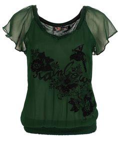 fancy shirts | Mijnmodewinkel.nl :: dames :: shirts :: Shirt gewerkt fancy