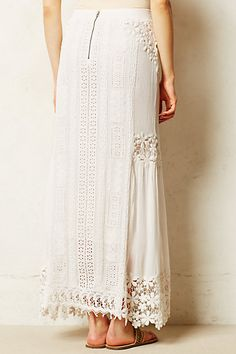 My Daughter would LOVE this... Lace Melange Maxi Skirt - anthropologie.com