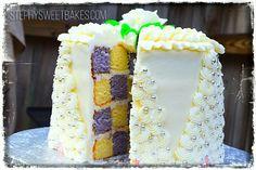 Lemon Lavender Cake With White Chocolate Buttercream