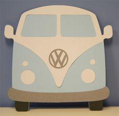 Designer Cuts : svg file - VW BUS (by Alissa Mortensen)