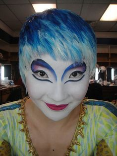 Cirque Du Soleil Make up