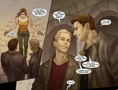 Funny Spike/Angel moment in the Buffy comic